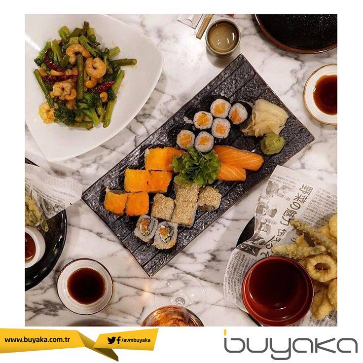 Bizce bugün biraz keyif yapın! Buyaka SushiCo' da biraz sohbet, biraz muhabbet çokça lezzet sizi bekliyor!  #BuyakaBiBaşka #LezzetNoktaları #Moda #Alışveriş #Keyif #Mutluluk #BuyakaAvm