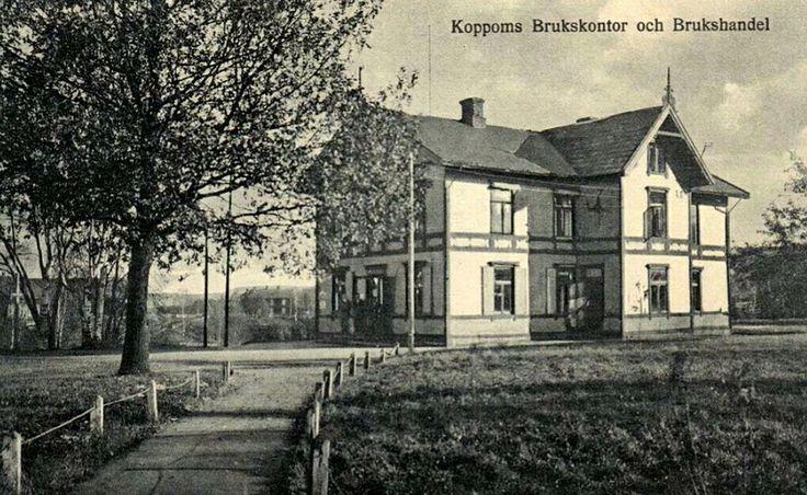 Värmland Koppom Brukskontor og Brukshandel 1950-talet