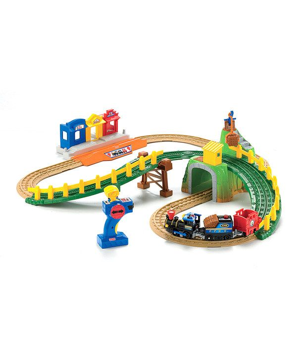 Look what I found on #zulily! GeoMax Timbertown Remote Control Railway Set by Fisher-Price #zulilyfinds