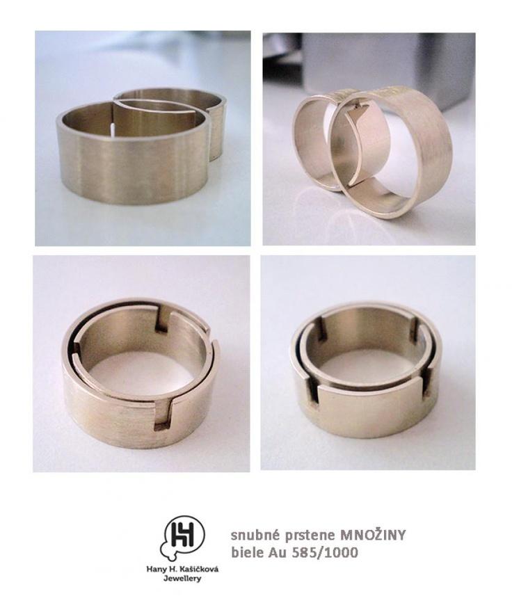 autorské snubné a zásnubné prstene na mieru