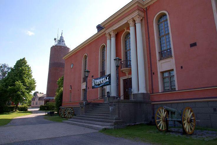 Kokkola, Finland. The Town Theatre.