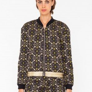 Persian pattern quilted Bomber jacket. Art. GL-174