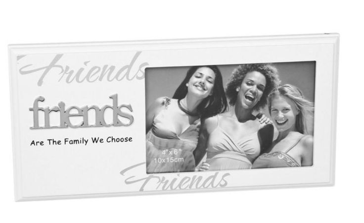 Friends Photo Frame ´Friends Are the Family We Choose´