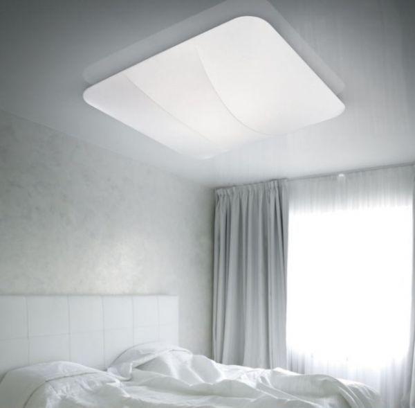 Deckenlampe Tanki Von Lika Quadratisch Schlafzimmer