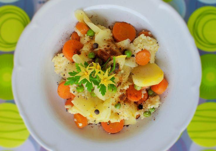 CYKORIA - kasza jaglana z warzywami
