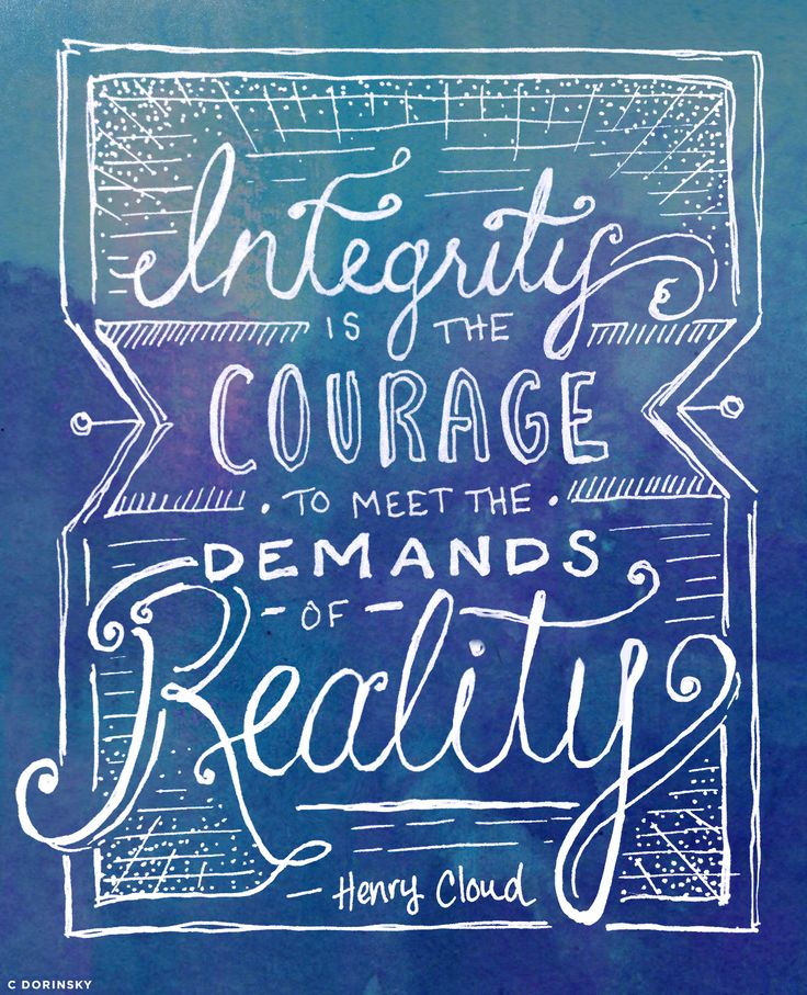 what a great quote and seems to perfectly fit my thoughts lately.  Henry Cloud quote