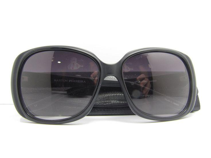 Barton Perreira Sunglasses New Original Genuine Japan Mod Bardot  Black/ Smolder #BartonPerreira #Square