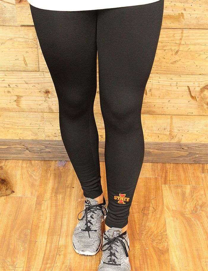 Say hello to your new favorite pair of fleece lined leggings GO I STATE