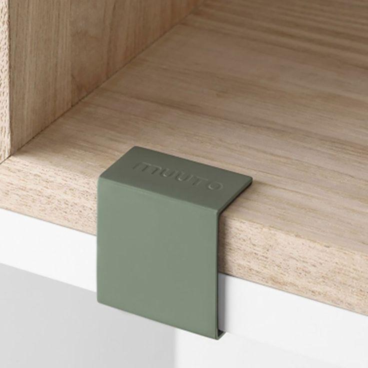 top3 by design - MUUTO NEW NORDIC - muuto stack clip pk 5 dusty green