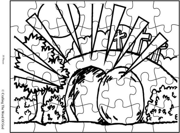 The Empty Tomb Puzzle Day 4
