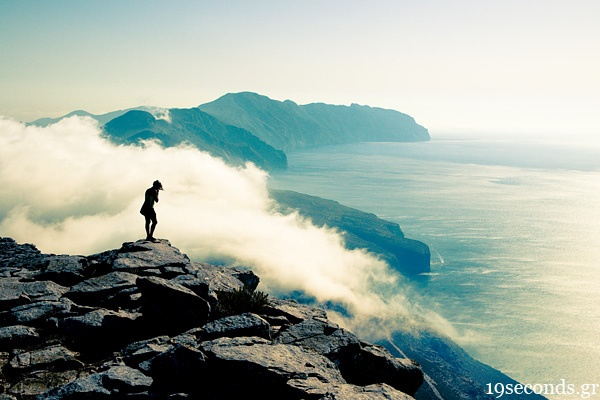 On clouds, Amorgos Island / by 19seconds, via Flickr