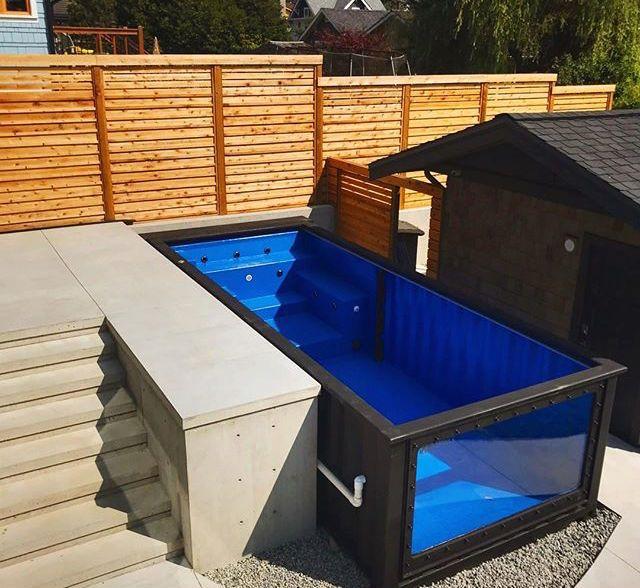 Oasispool 29 Mod Pool Modern Pools Tiny House Design