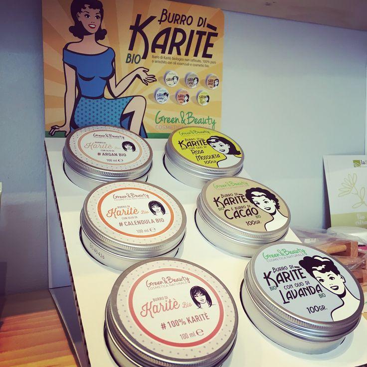 Burro di karitè per idratare la pelle !!! Green& beauty da Bioetìc shop a Empoli 😉