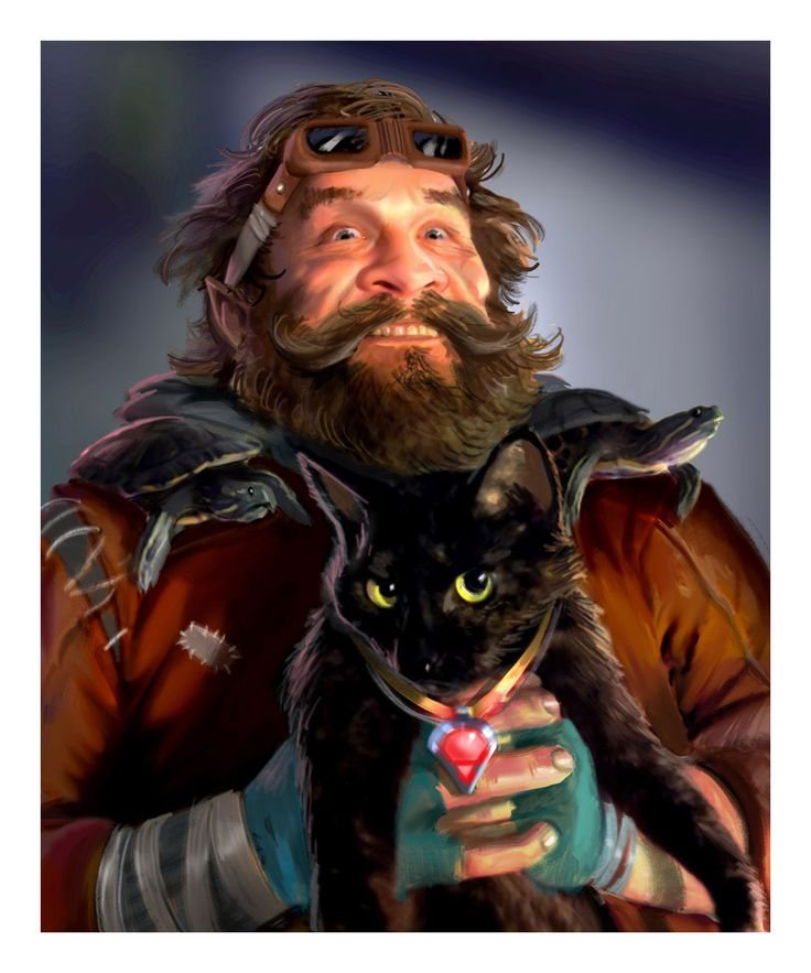 Dwarf Cat Shaman from Shadowrun Online