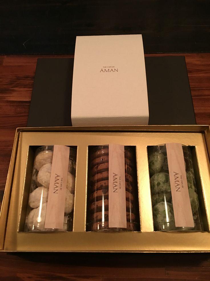 アマン東京 ザ・カフェbyアマンの焼き菓子セット 3種入り