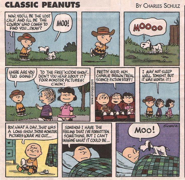 "Peanuts Cartoon   My favorite ""Peanuts"""