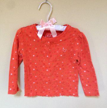 The Children's Place Orange long sleeve Tshirt 24M