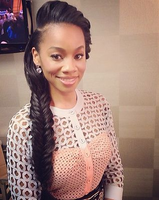 Groovy 1000 Ideas About French Braids Black Hair On Pinterest Loose Short Hairstyles For Black Women Fulllsitofus