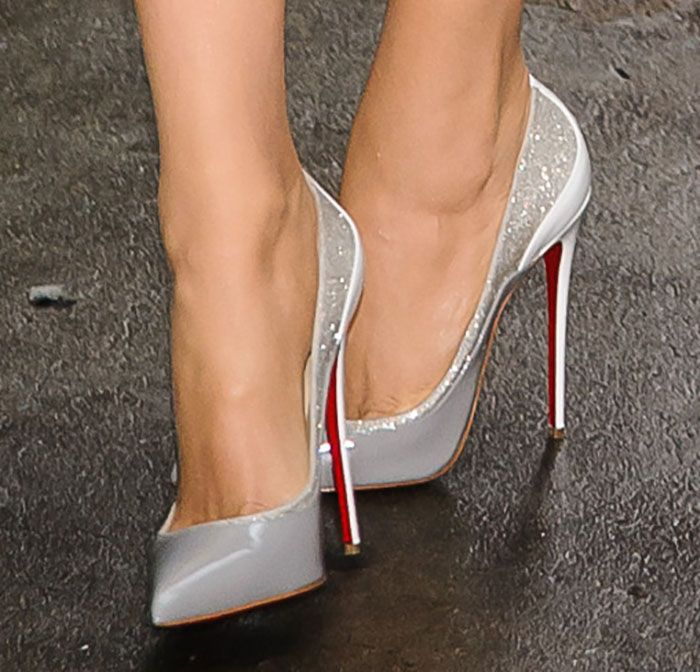 "Blake Lively Puts on a Fashion Parade in 3 Christian Louboutin Pumps for ""Good Morning America"""