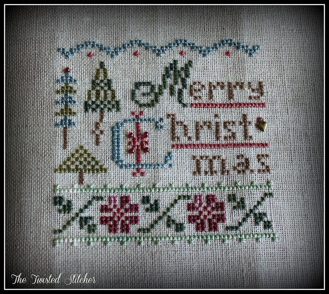 Lizzie Kate A Little Christmas by The Twisted Stitcher, via Flickr