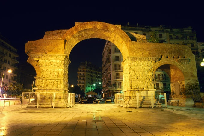 Ah! I used to live in Thess...take me back! Take. Me. BACK!    Arch of Galerius, Thessaloniki, Greece