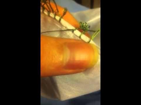 Oya lace motif - YouTube