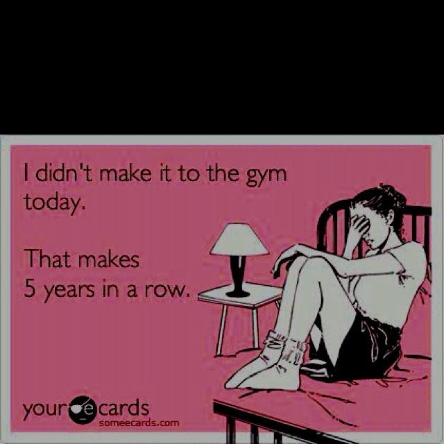 Gym fail.