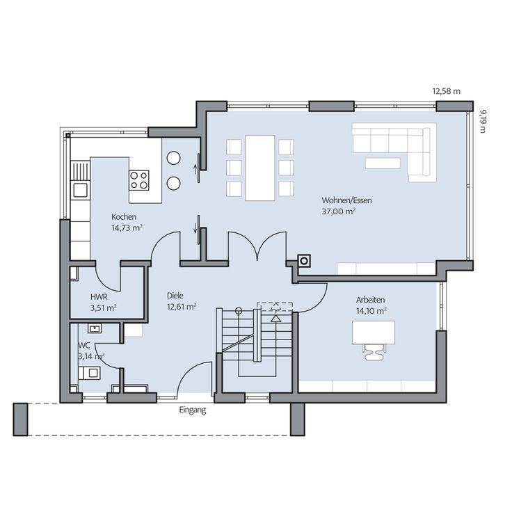 Haus Vettel – Erdgeschoss