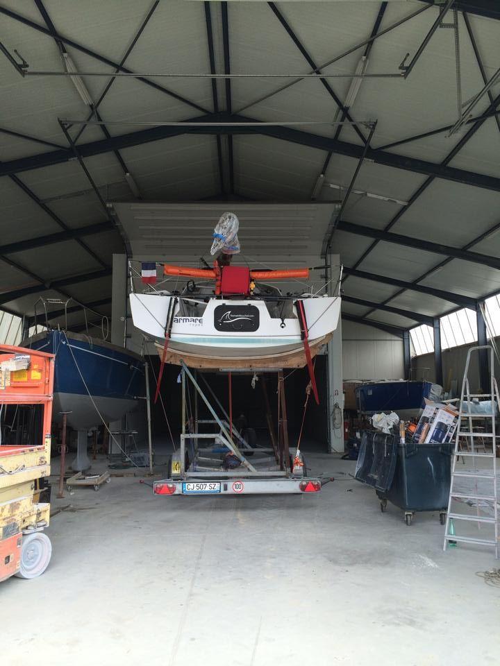 #MinitransatRace 2015 #RomainMouchel @RMouchel_346 #759 Race Training #France www.technocraftsl.com #TechnoCraftsl