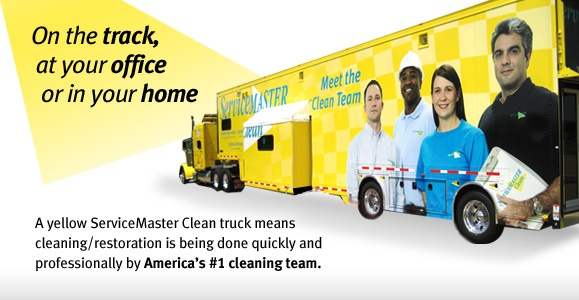 ServiceMaster Clean racing truck for NASCAR number 09 car.