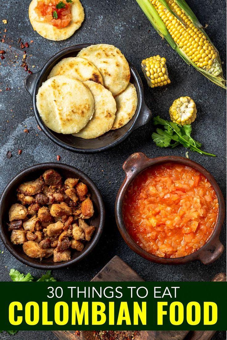 Design Colombian Cuisine Ideas