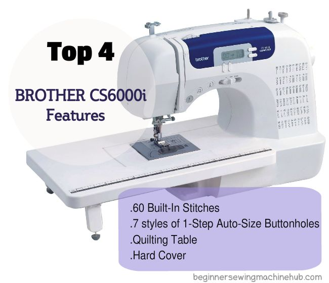 brother cs6000i, sewing,quilting machine from brother