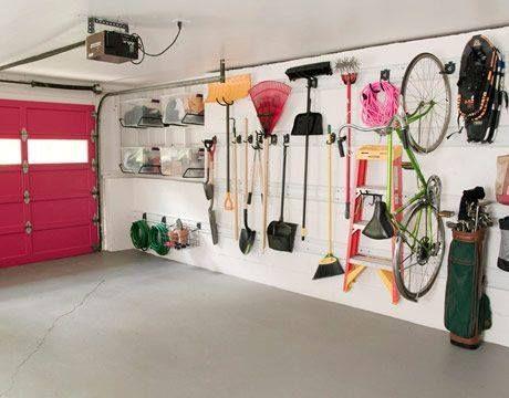 Organização até na garagem!