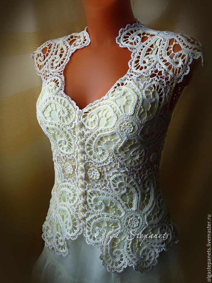 Irish Lace Knitting Pattern : 674 best images about Irish crochet on Pinterest Irish crochet patterns, Le...