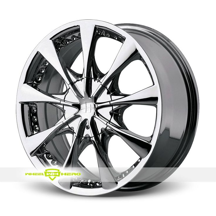 Helo HE827 Chrome Wheels For Sale For more info http