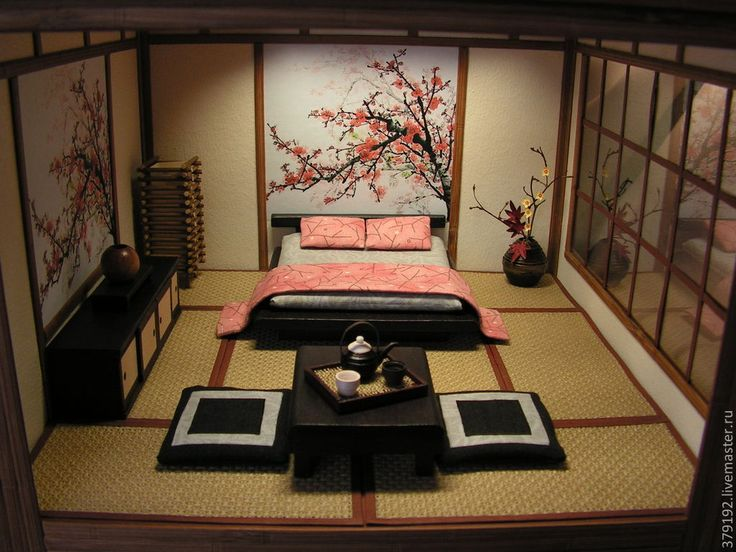 1000 best images about asian dollhouse on pinterest hong kong miniature and miniature rooms for Asian inspired bedroom furniture