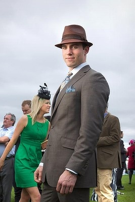 Fashions from The Melbourne Cup.