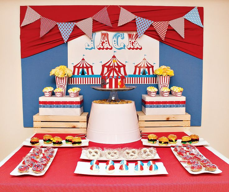 23 best cheap first birthday party ideas images on pinterest - Cheap circus decorations ...