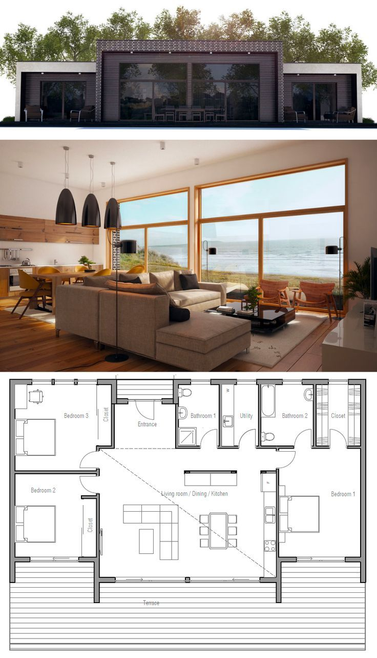 Small house plan nature architecture zero energy house for Small zero energy house plans