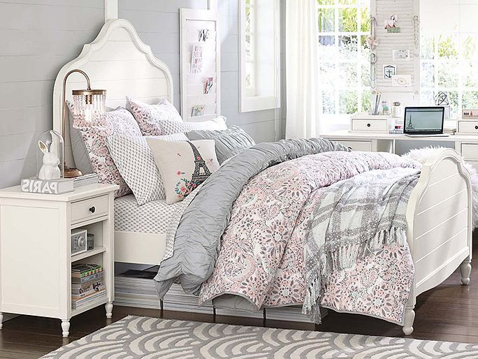 I love the PBteen Genevieve Paisley Bedroom on pbteen.com - for addison