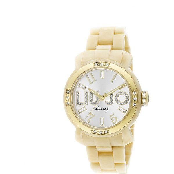 Liu Jo Luxury Miami Osso Gold Orologio Donna Quarzo Cristalli TLJ 696
