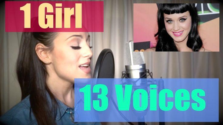 JENNY MARSALA - 1 Girl 13 Voices (Katy Perry, Adele, Shakira, Taylor Swi...
