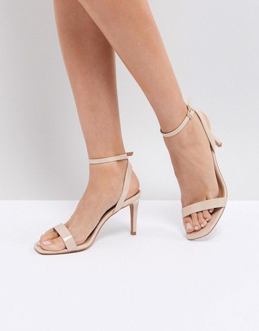 b87bf847d3 HALF TIME Barely There Heeled Sandals in 2019 | Shoes | Zapatos, Accesorios