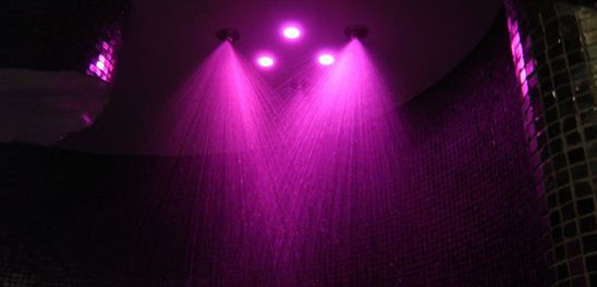 Emotional Shower with Chromo Therapy inside