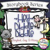 Storybook Series - Hey Diddle Diddle {FREEBIE} Nursery Rhy