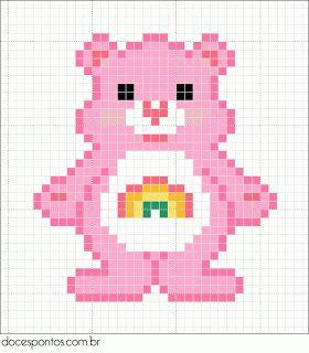 Care Bear perler bead pattern - for Connor