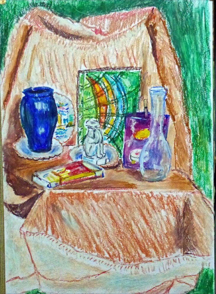 Les 25 meilleures id es de la cat gorie art du pastel gras sur pinterest coloriage toile de for Peinture pastel gras
