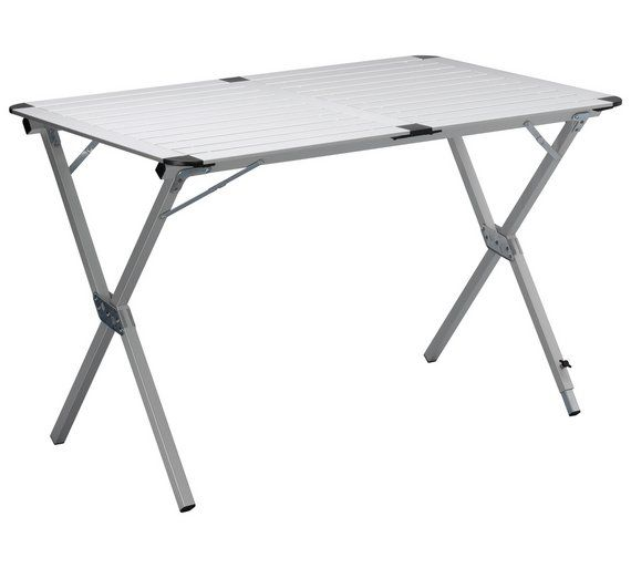 Also on Amazon. Buy Tristar 110 x 70 x 70cm Roll Up Camping Table at Argos.co.uk, visit Argos.co.uk to shop online for Camping chairs and tables, Camping and caravanning, Sports and leisure