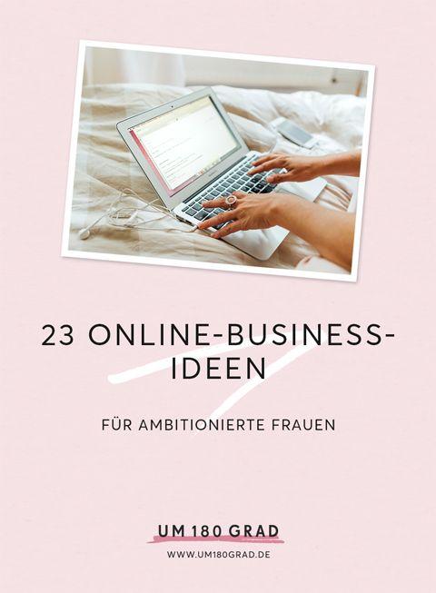 23 Online-Business-Ideen für ambitionierte Frauen via @um180grad