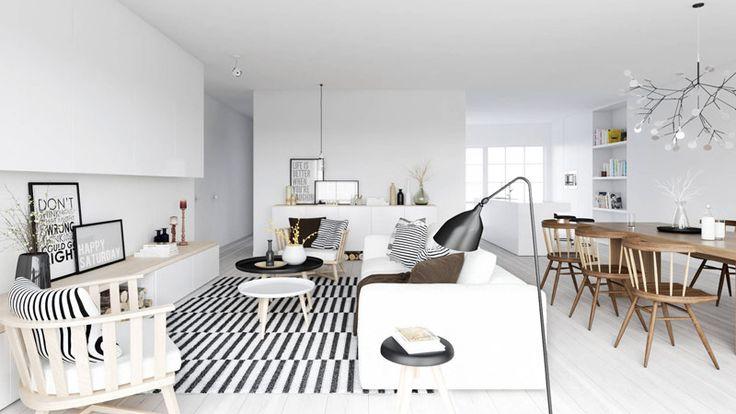 BZCasa Magazine - http://mag.bzcasa.it/abitare/arredamento/come-arredare-un-salotto-in-stile-nordico-6867/